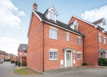 Thumbnail 5 bedroom semi-detached house for sale in Buckenham Way, Thetford