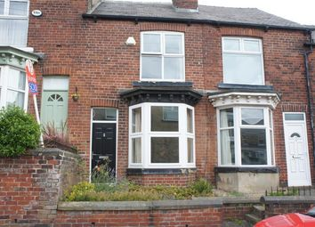 Thumbnail 3 bed terraced house to rent in Cobden View Road, Crookes, Sheffield