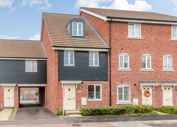 Thumbnail 3 bed end terrace house for sale in Olive Way, Red Lodge, Bury St. Edmunds