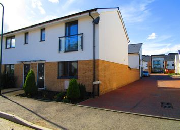 Thumbnail 3 bed end terrace house for sale in Miller Way, Peterborough