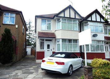 Thumbnail 4 bedroom semi-detached house to rent in Lynton Avenue, London