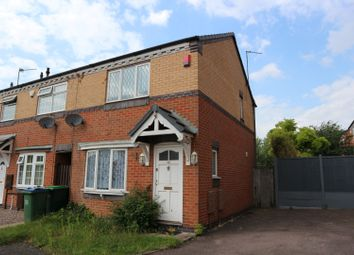 Thumbnail End terrace house to rent in Tanacetum Drive, Walsall