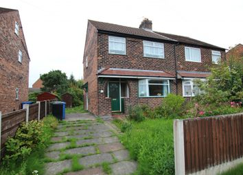 Thumbnail 3 bed semi-detached house for sale in Moorside Road, Flixton