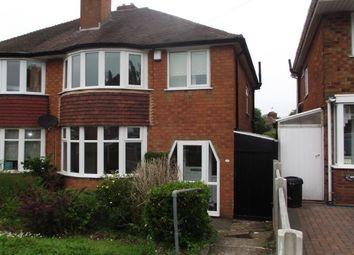 Thumbnail 3 bedroom semi-detached house to rent in Nigel Avenue, Northfield, Birmingham