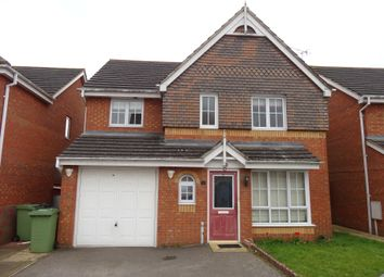 Thumbnail 4 bed detached house to rent in Covington Grove, Wellingborough