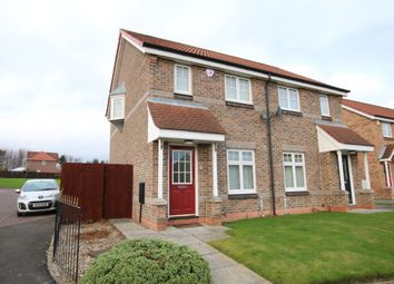 Thumbnail 2 bed semi-detached house for sale in Penyghent Way, Washington