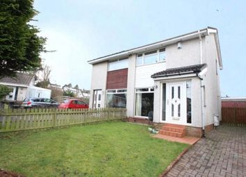 Thumbnail 2 bed semi-detached house for sale in Hayle Gardens, Moodiesburn, Glasgow, North Lanarkshire