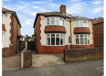 Thumbnail 2 bed semi-detached house for sale in Park Crescent, Darlington