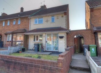 Thumbnail 2 bed end terrace house for sale in Edison Road, Walsall