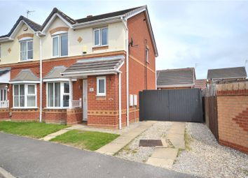 Thumbnail 3 bed semi-detached house for sale in Harlequin Drive, Kingswood, Hull