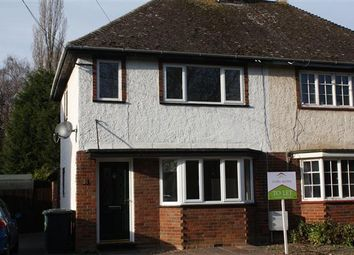 Thumbnail 2 bedroom semi-detached house to rent in Maze Road, Hilton, Huntingdon