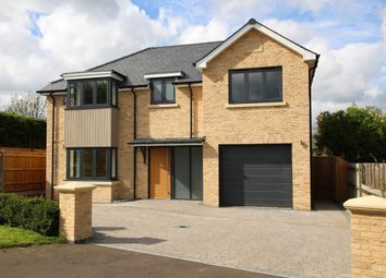 Thumbnail 4 bed detached house for sale in Station Road, Steeple Morden, Royston