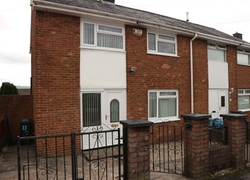 Thumbnail 3 bed end terrace house for sale in Sycamore Road, Merthyr Tydfil