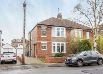 Thumbnail 3 bed semi-detached house for sale in Heathway, Heath, Cardiff