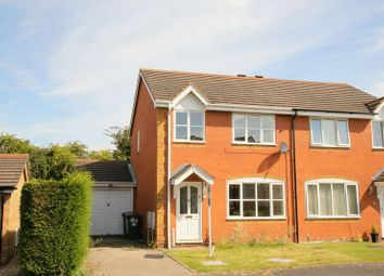 Thumbnail 3 bed semi-detached house to rent in 8 Bush Close, Wellington, Telford