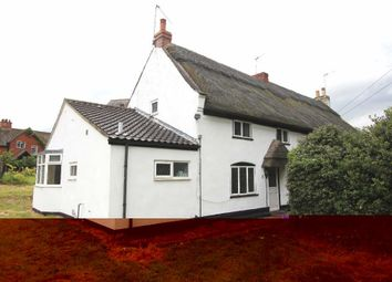 Thumbnail 3 bedroom semi-detached house for sale in Leicester Road, Sapcote, Leicester