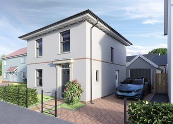 Thumbnail 3 bedroom detached house for sale in Lucombe Park, Uffculme, Cullompton