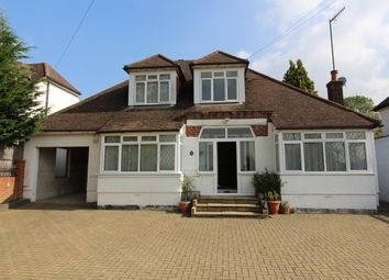 Thumbnail 4 bed detached bungalow to rent in Epsom Lane North, Epsom
