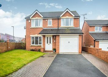 Thumbnail 4 bed detached house for sale in Odinel Court, Prudhoe