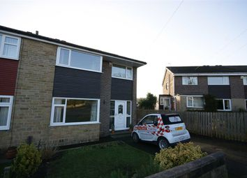 Thumbnail 3 bed semi-detached house to rent in Close Lea Way, Rastrick, Brighouse