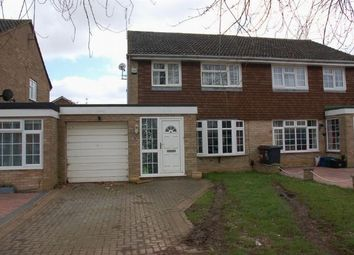 Thumbnail 3 bed semi-detached house for sale in Manning Road, Moulton, Northampton