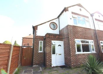 Thumbnail 3 bed semi-detached house for sale in Queens Road, Cheadle, Cheshire