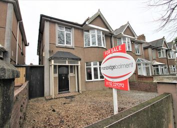 Thumbnail 4 bedroom semi-detached house for sale in Outland Road, Plymouth