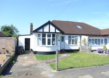 Thumbnail 3 bedroom semi-detached bungalow for sale in Firswood Avenue, Stoneleigh, Epsom