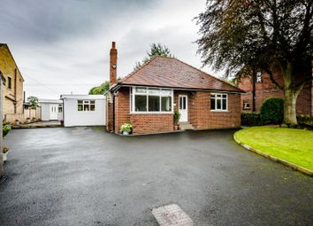 Thumbnail 3 bed detached bungalow for sale in Abbey Road, Shepley, Huddersfield