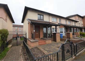 Thumbnail 2 bed end terrace house for sale in Dunnottar Street, Glasgow