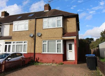 Thumbnail 3 bedroom end terrace house to rent in Warwick Avenue, Egham