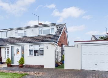 Thumbnail 3 bed semi-detached house for sale in Long Meadowgate, Leeds