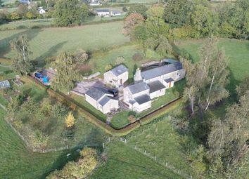 Thumbnail 4 bed farmhouse for sale in Kiln Green, Quabbs Farm, Ross-On-Wye
