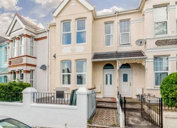 Thumbnail 3 bed maisonette for sale in Elphinstone Road, Peverell, Plymouth