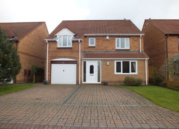 Thumbnail 4 bed detached house for sale in Milburn Drive, Newcastle Upon Tyne
