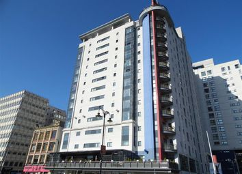 Thumbnail 2 bed flat to rent in Landmark Place, Churchill Way, Cardiff
