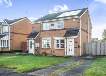 Thumbnail 2 bed semi-detached house for sale in Riverside Court, Dunston, Gateshead