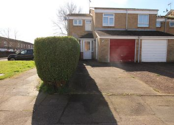 Thumbnail 3 bed end terrace house for sale in Kingston Crescent, Chatham, Kent