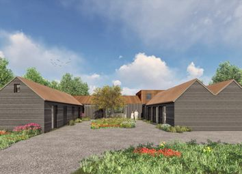 Oakhall Court, Oakley, Aylesbury HP18. 5 bed barn conversion for sale