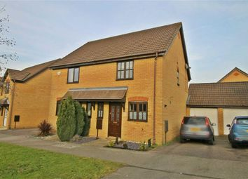 Thumbnail 2 bed semi-detached house for sale in Wolfscote Lane, Emerson Valley, Milton Keynes