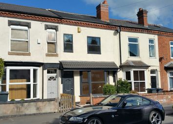 Thumbnail Terraced house to rent in Institute Road, Birmingham