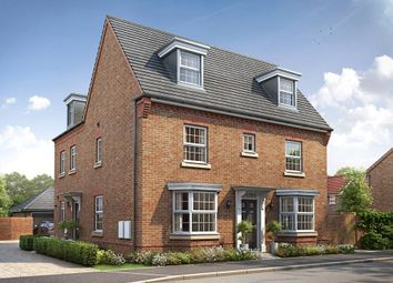 """Thumbnail 4 bed semi-detached house for sale in """"Hertford"""" at Hutton Close, Newbury"""