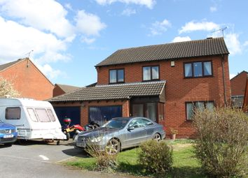 Thumbnail 4 bed detached house for sale in New Inn Close, Broughton Astley, Leicester