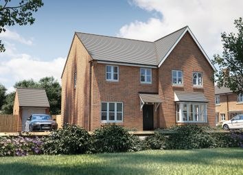 "Thumbnail 3 bedroom semi-detached house for sale in ""The Studland"" at Bishopsfield Road, Fareham"