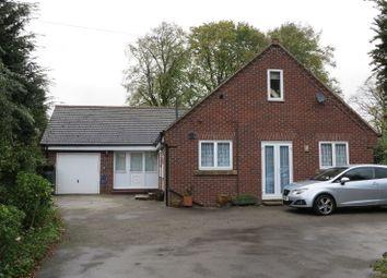 Thumbnail 4 bed detached bungalow for sale in Sutton Lane, Etwall, Derby