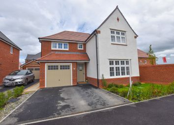 Thumbnail 4 bed detached house for sale in Rhodfa Gladstone, Penyffordd, Chester
