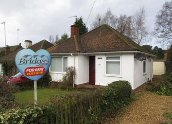 Thumbnail 2 bed bungalow to rent in Clockhouse Road, Farnborough