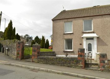Thumbnail 2 bedroom semi-detached house for sale in Swansea Road, Waunarlwydd, Swansea