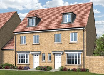 Thumbnail 4 bed semi-detached house for sale in Malvern Walk, Little Stanion, Corby