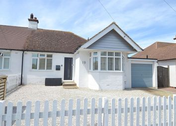 Thumbnail 3 bed semi-detached bungalow for sale in St. Swithins Road, Whitstable